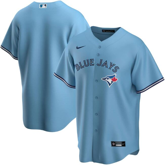 Men's Toronto Blue Jays Blue Cool Base Stitched MLB Jersey