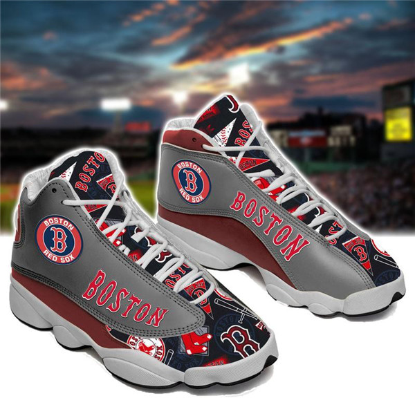 Women's Boston Red Sox Limited Edition JD13 Sneakers 002