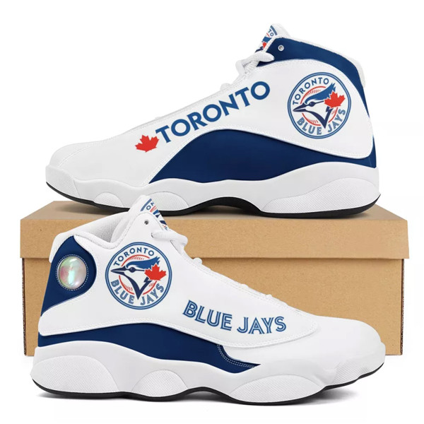 Women's Toronto Blue Jays Limited Edition JD13 Sneakers 002