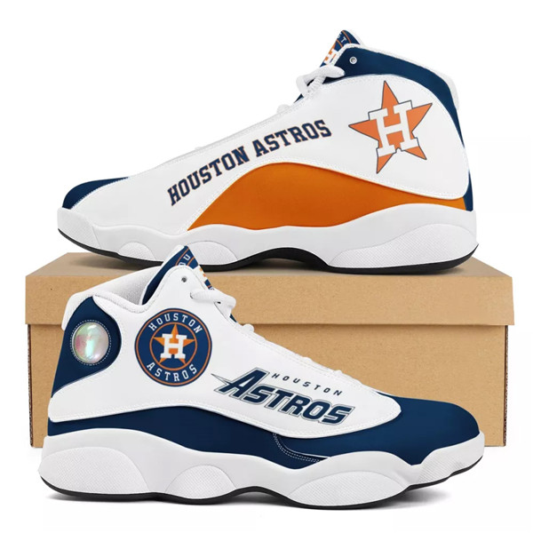 Women's Houston Astros Limited Edition JD13 Sneakers 002
