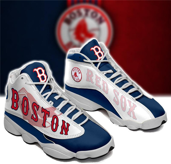 Women's Boston Red Sox Limited Edition JD13 Sneakers 003
