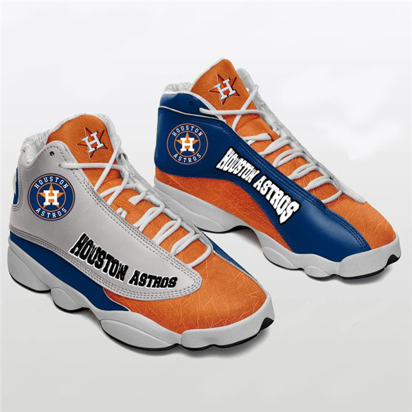 Women's Houston Astros Limited Edition JD13 Sneakers 001