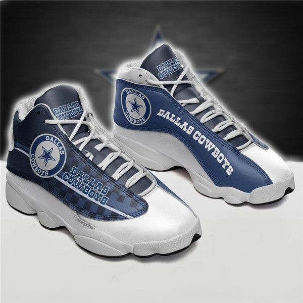 Women's Dallas Cowboys Limited Edition JD13 Sneakers 012