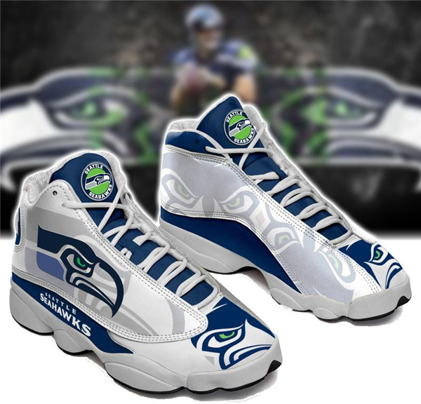 Women's Seattle Seahawks Limited Edition JD13 Sneakers 004