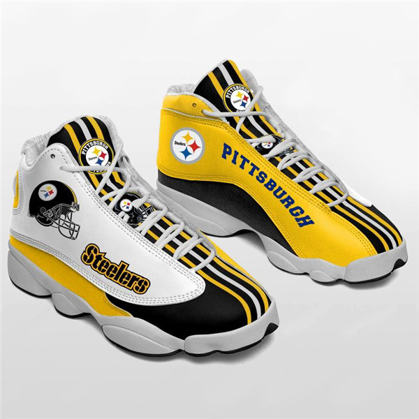 Women's Pittsburgh Steelers Limited Edition JD13 Sneakers 007