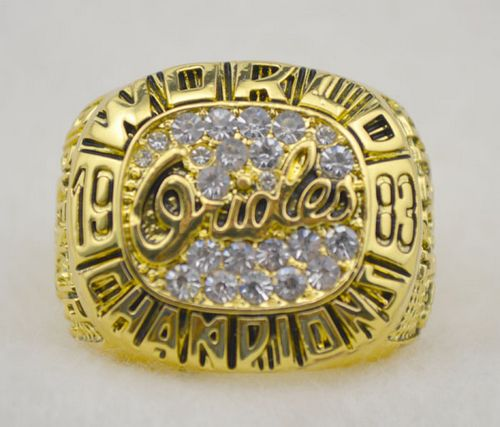 MLB Baltimore Orioles World Champions Gold Ring