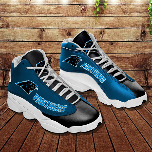 Women's Carolina Panthers Limited Edition JD13 Sneakers 002