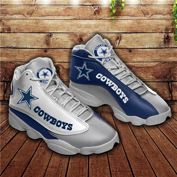 Women's Dallas Cowboys Limited Edition JD13 Sneakers 010