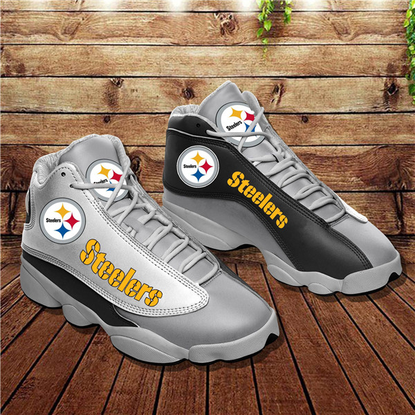 Women's Pittsburgh Steelers Limited Edition JD13 Sneakers 005