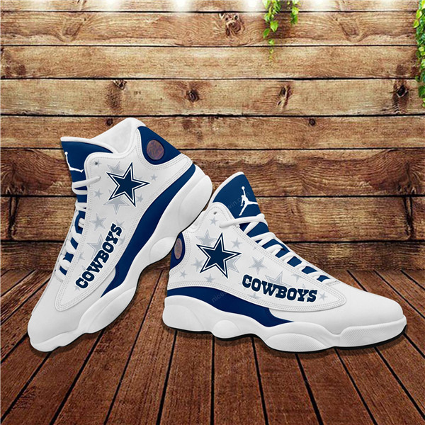 Women's Dallas Cowboys Limited Edition JD13 Sneakers 009