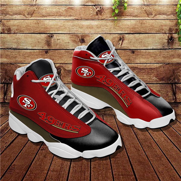 Women's San Francisco 49ers Limited Edition JD13 Sneakers 005