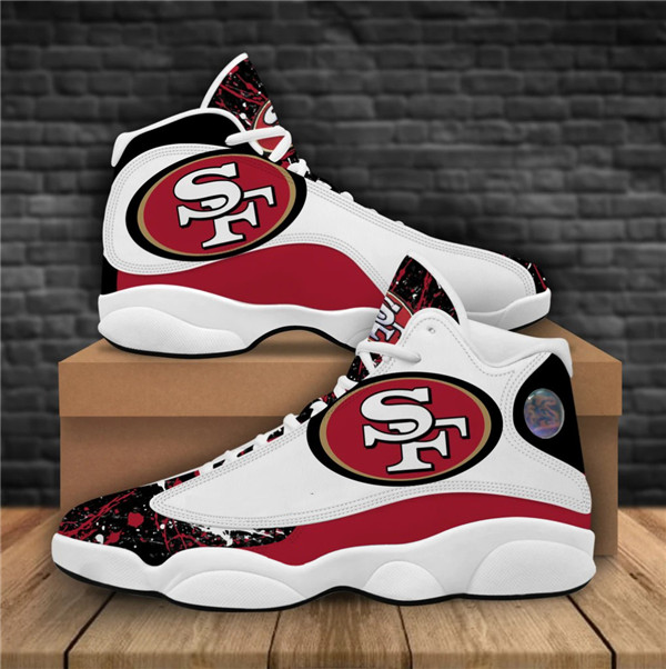 Women's San Francisco 49ers Limited Edition JD13 Sneakers 001