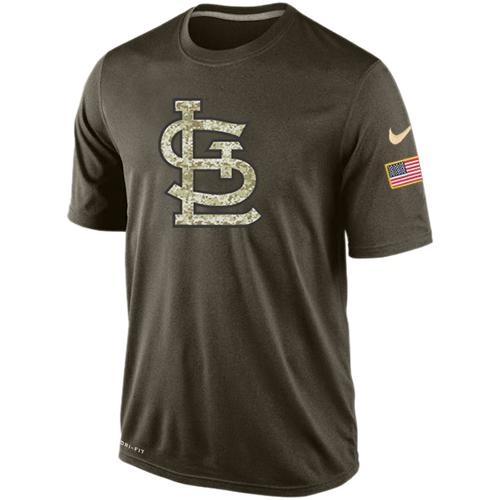 Men's St.Louis Cardinals Salute To Service Nike Dri-FIT T-Shirt