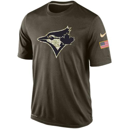 Men's Toronto Blue Jays Salute To Service Nike Dri-FIT T-Shirt