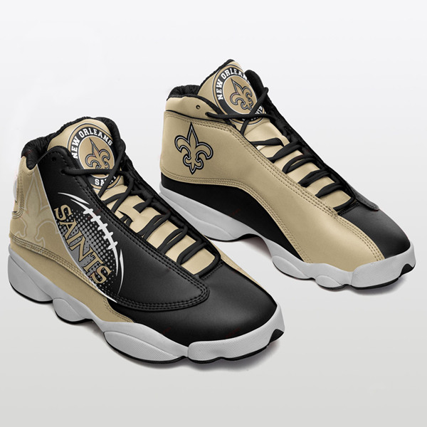 Women's New Orleans Saints Limited Edition JD13 Sneakers 004
