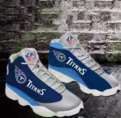 Women's Tennessee Titans Limited Edition JD13 Sneakers 005