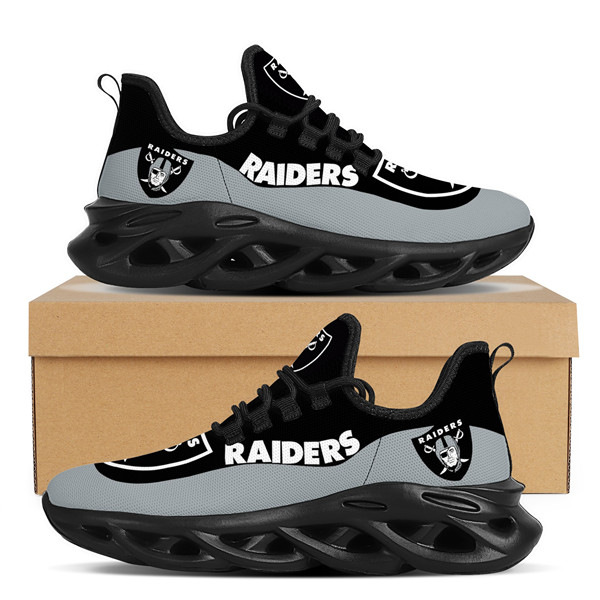 Women's Las Vegas Raiders Flex Control Sneakers 001