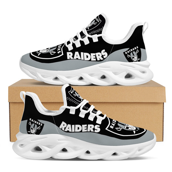 Women's Las Vegas Raiders Flex Control Sneakers 002