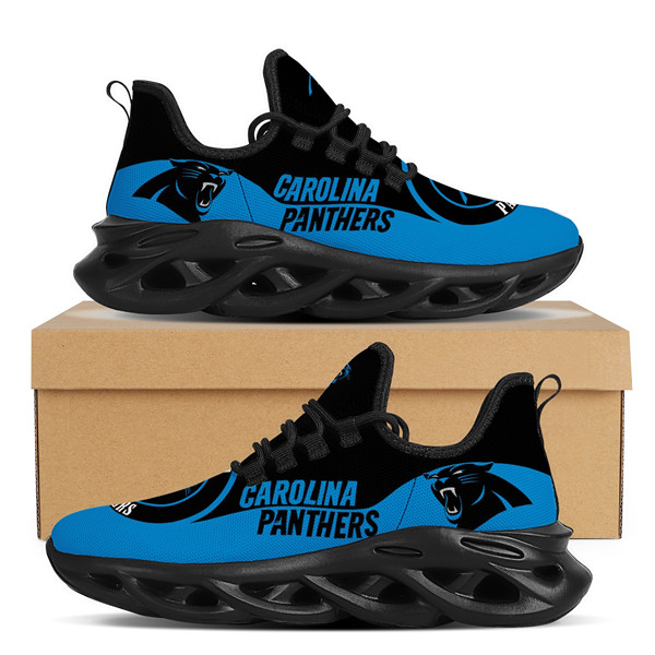 Women's Carolina Panthers Flex Control Sneakers 001