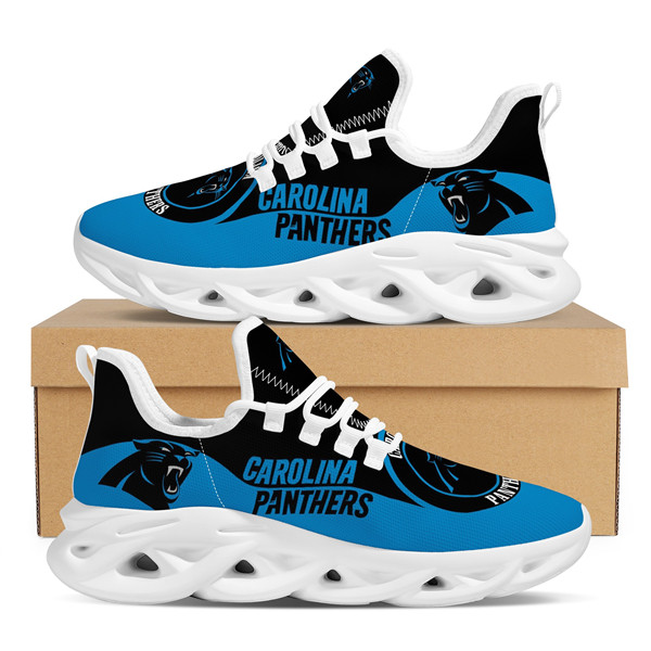 Women's Carolina Panthers Flex Control Sneakers 002