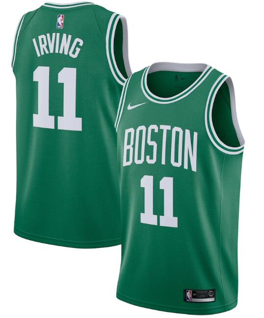 Men's Boston Celtics Green #11 Kyrie Irving Icon Edition Stitched NBA Jersey
