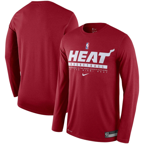 Men's Miami Heat 2020 Heather Charcoal Eastern Conference Champions Locker Room Long Sleeve NBA T-Shirt