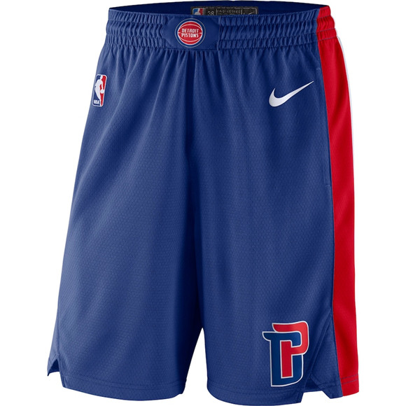 Men's Detroit Pistons Blue Shorts (Run Smaller)