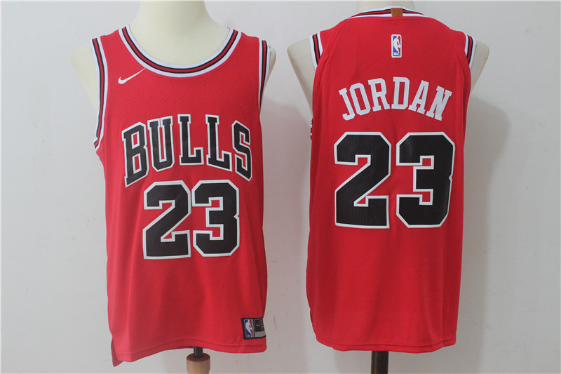 Men's Nike Chicago Bulls #23 Michael Jordan Red Stitched NBA Jersey