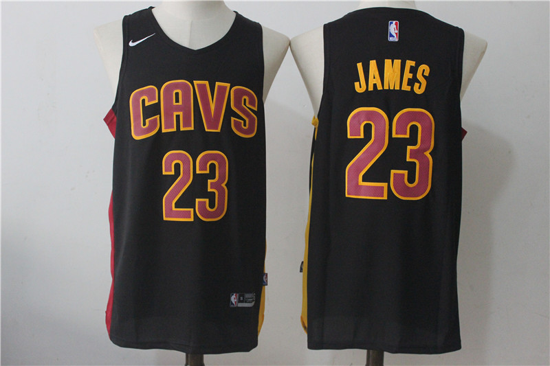 Men's Nike Cleveland Cavaliers #23 LeBron James Navy Blue Alternate Stitched NBA Jersey