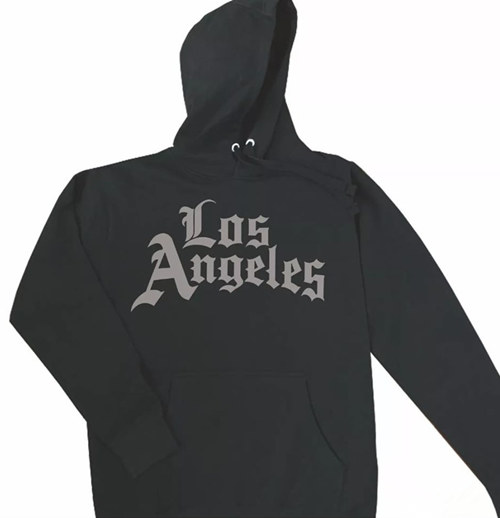 Men's Los Angeles Clippers Black Hoodie