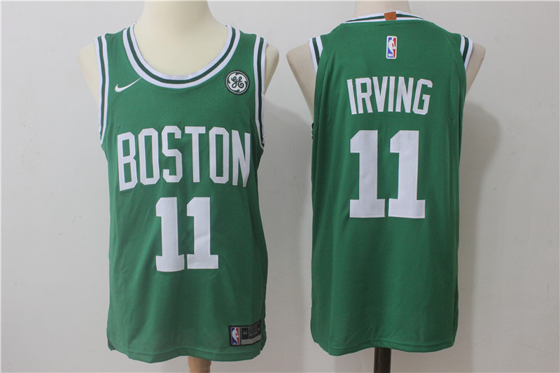 Men's Nike Boston Celtics #11 kyrie irving Green Stitched NBA Jersey