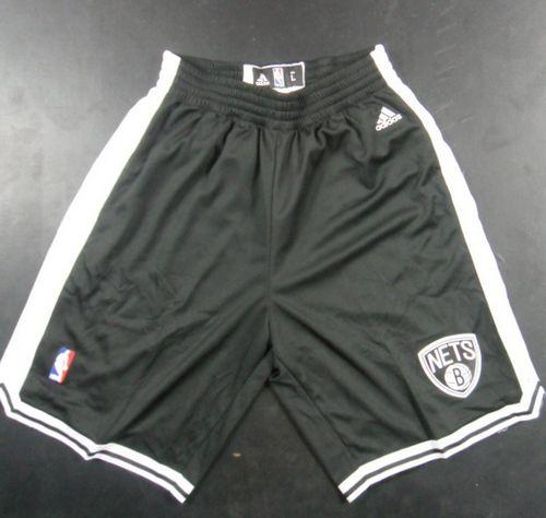 Brooklyn Nets Black NBA Shorts