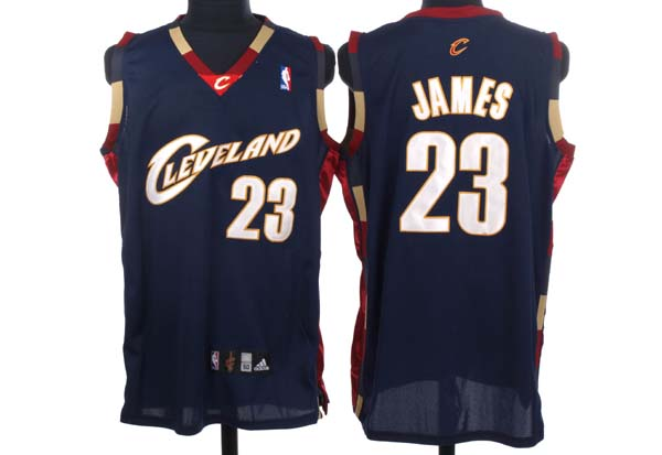 Cavaliers #23 LeBron James Stitched Blue NBA Jersey