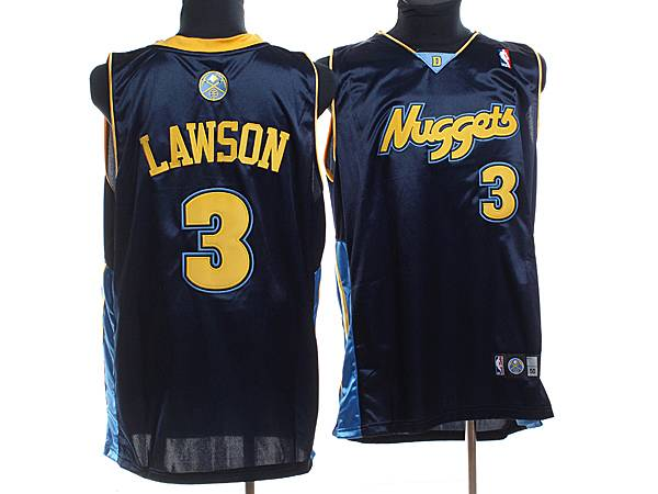Nuggets #3 Ty Lawson Stitched Dark Blue NBA Jersey