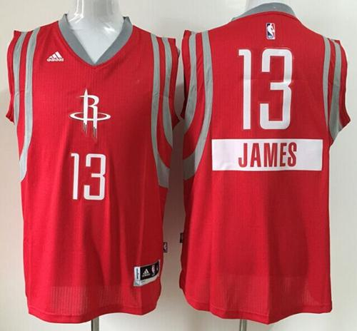 Rockets #13 James Harden Red 2014-15 Christmas Day