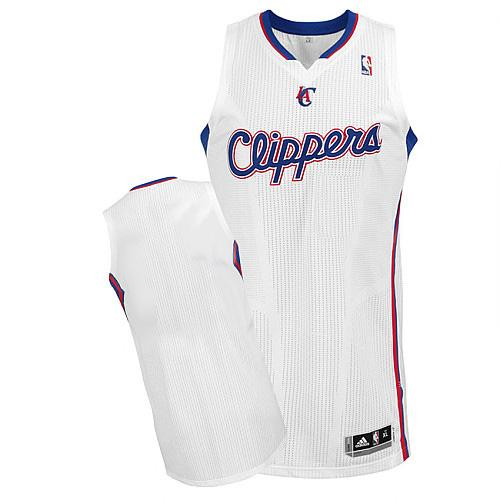 Revolution 30 Clippers Blank White Stitched NBA Jersey