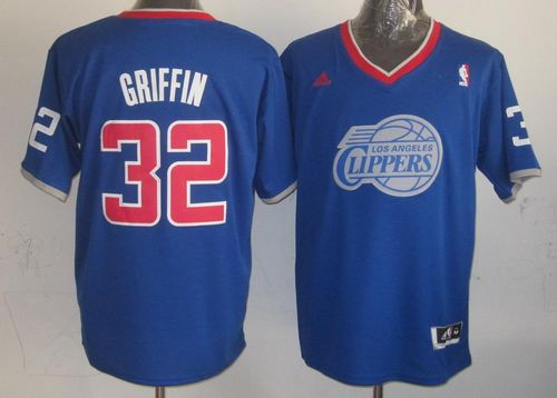 Clippers #32 Blake Griffin Light Blue 2013 Christmas Day Swingman Stitched NBA Jersey