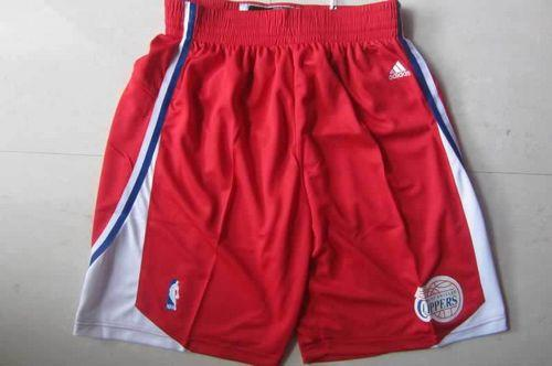 Los Angeles Clippers Red NBA Shorts