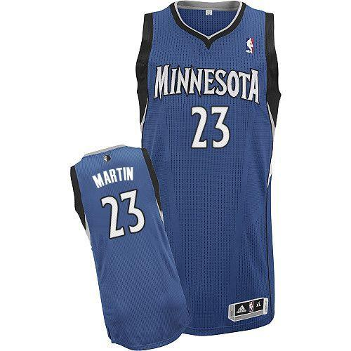 Revolution 30 Timberwolves #23 Kevin Martin Blue Stitched NBA Jersey