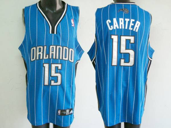 Magic #15 Vince Carter Stitched Blue NBA Jersey