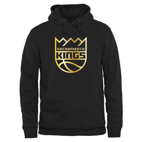 Sacramento Kings Gold Collection Pullover Hoodie Black