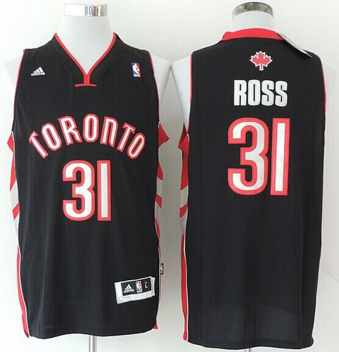Revolution 30 Raptors #31 Terrence Ross Black Stitched NBA Jersey