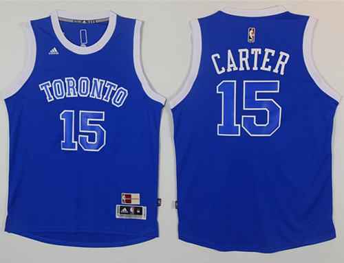Raptors #15 Vince Carter Light Blue Throwback Stitched NBA Jersey