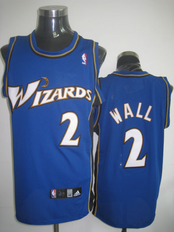 Wizards #2 John Wall Stitched Blue NBA Jersey