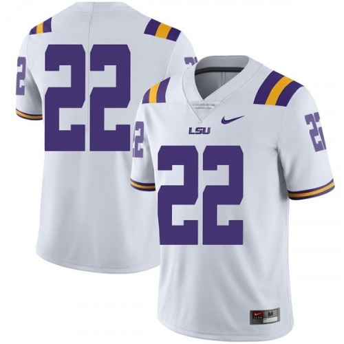 LSU Tigers #22 Clyde Edwards-Helaire White Limited Stitched NCAA Jersey
