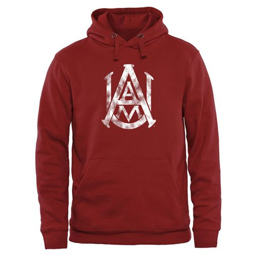 Alabama A&M Bulldogs Classic Primary Pullover Hoodie Cardinal