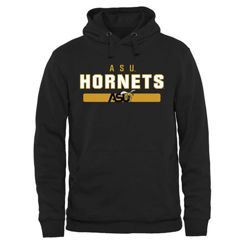 Alabama State Hornets Team Strong Pullover Hoodie Black