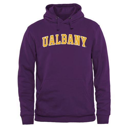 Albany Great Danes Everyday Pullover Hoodie Purple