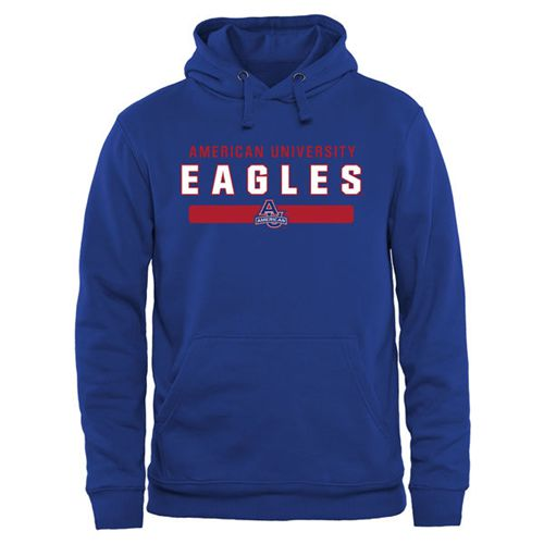 American Eagles Team Strong Pullover Hoodie Royal Blue