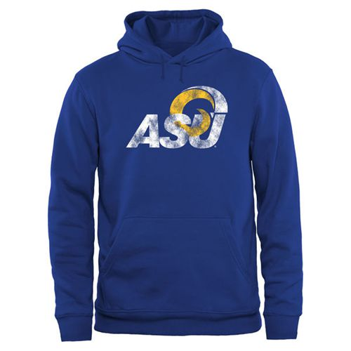 Angelo State Rams Big & Tall Classic Primary Pullover Hoodie Royal